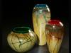 Golden Gem Vases