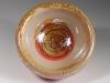 Ivory & Gold Bubble Bowl