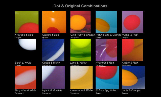 color chart Dots & Orig